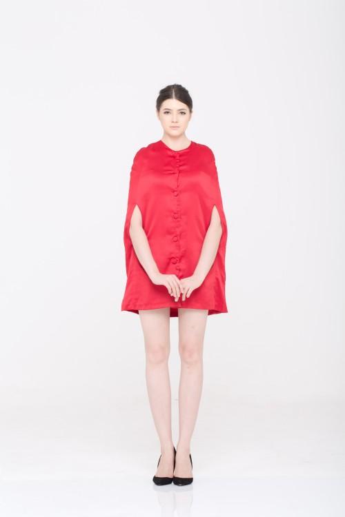 Gillian Cape Dress