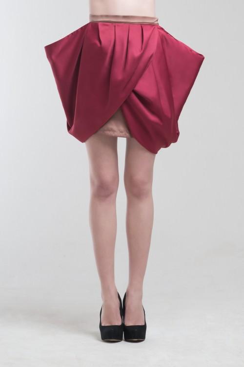 Liel Flap Skirt