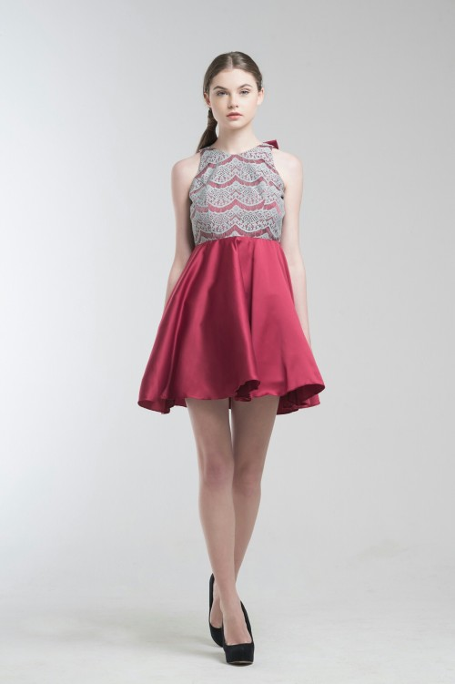 Drey Red Dress