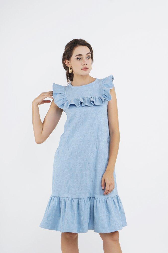 Erial Dress (Blue)