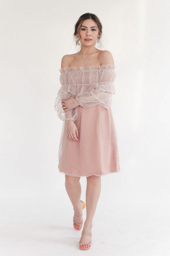Lark Dress (Nude)
