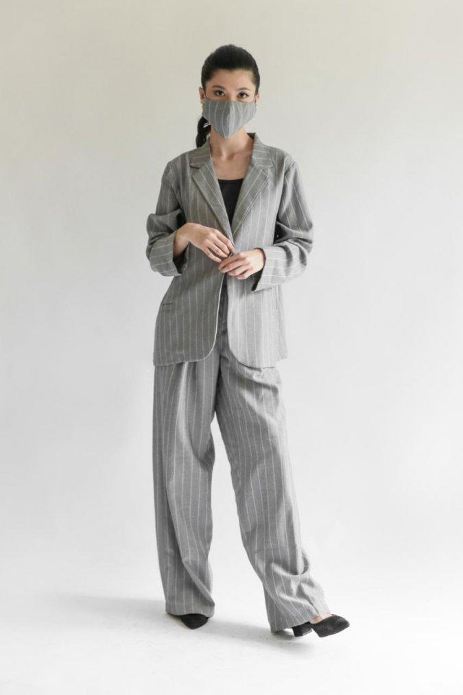 Tyra Blazer (Mist Grey)